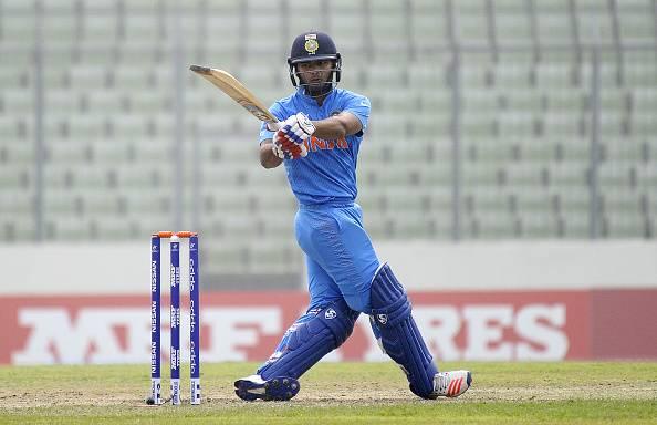 Rishabh Pant India ICC Under-19 World Cup
