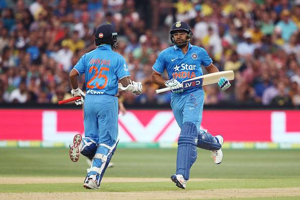 Image result for rohit sharma shikhar dhawan odi pair
