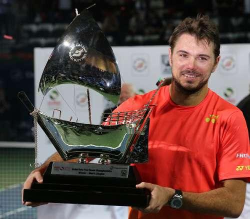 Stan Wawrinka Dubai Duty free Tennis championship