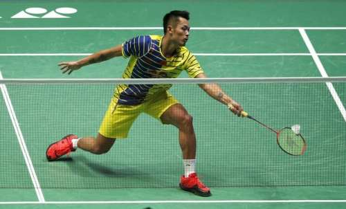 Badminton - Yonex All England Open Badminton Championships - Barclaycard Arena, Birmingham - 12/3/16 China's Lin Dan during the semi final's of the men's singles Action Images via Reuters / Andrew Boyers Livepic