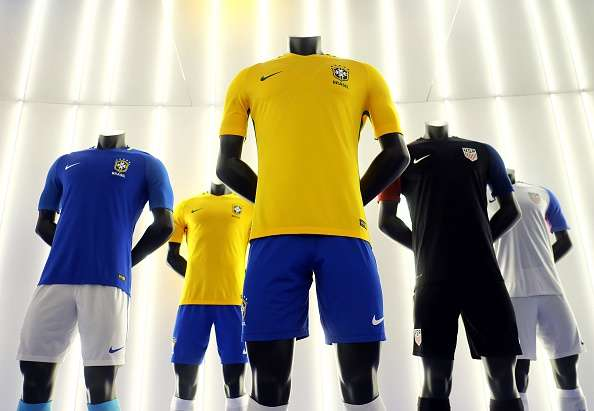 a61d5807cad nike brazil The jersey will be used by Brazil in the 2018 World Cup ...