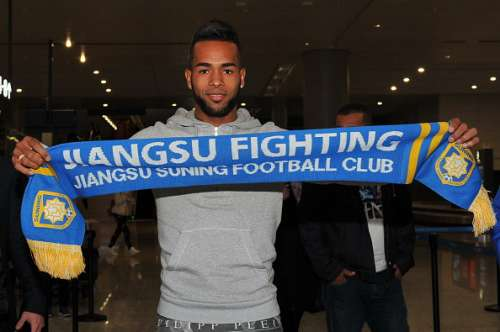 Alex Teixeira Chinese Super League