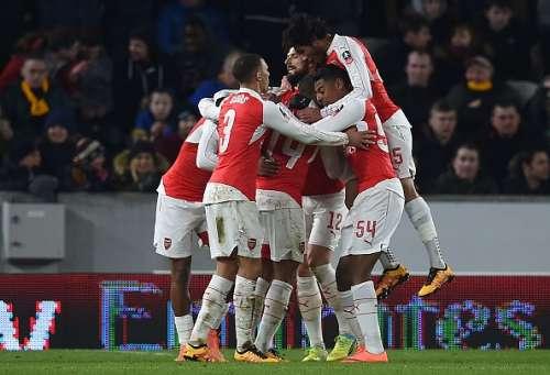 Arsenal 4-0 Hull City FA Cup replay goals highlights