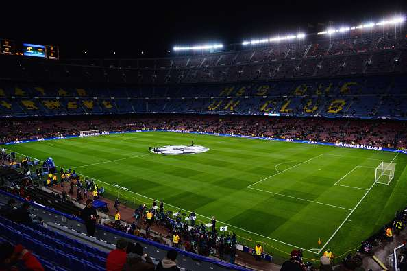 news:  is Barcelona the valued Camp stadium highest Nou in