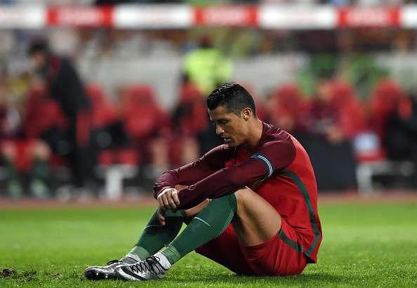 cristanio ronaldo missed penalty against bulgaria