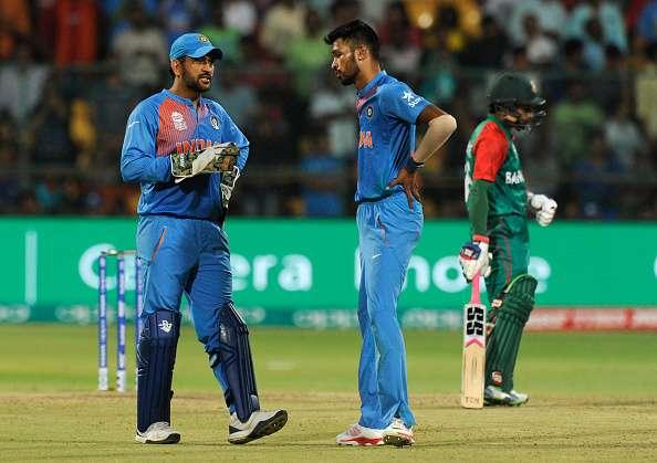 India vs Bangladesh last over: Why MS Dhoni asked Hardik Pandya to ...