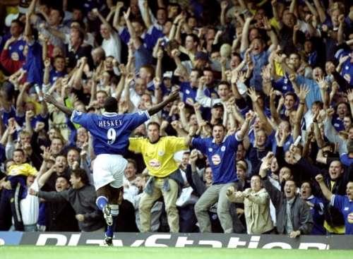 Emile Heskey Leicester City goal