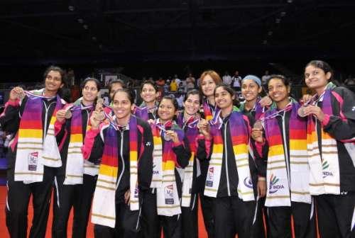 India badminton team