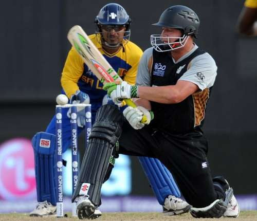 New Zealand Sri Lanka World T20 2010