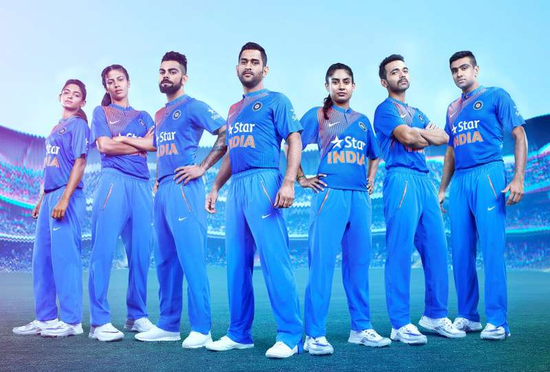T20 world cup 2018 india dress style