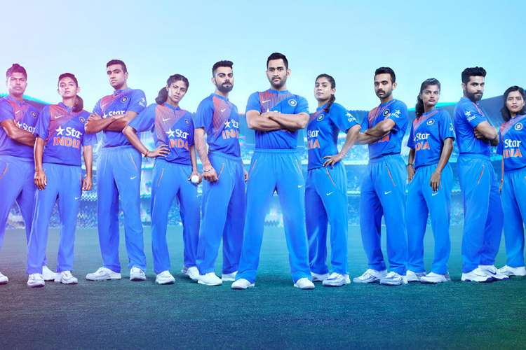 Icc T20 World Cup Indian Cricket Team New Jersey Unveiled Photos