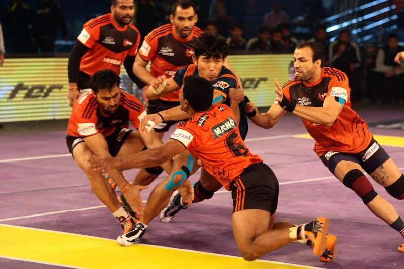 U Mumba 41-29 Bengal Warriors; The defending champions set up final clash with Patna