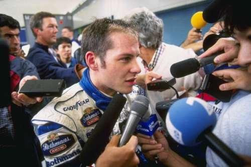 Jacques Villeneuve Williams Damon Hill