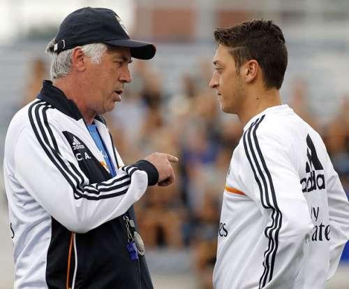 Ancelotti Ozil Real Madrid