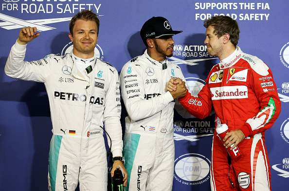 Bahrain GP 2016 Qualifying results: Lewis Hamilton on pole