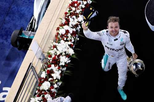 Nico Rosberg Mercedes 2016 Bahrain