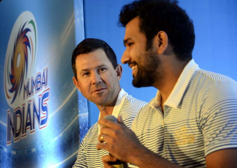 Rohit Sharma revealed exactly how much of an influence Ricky Ponting had on him