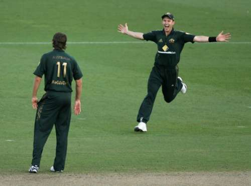 Brett Lee and Glenn McGrath