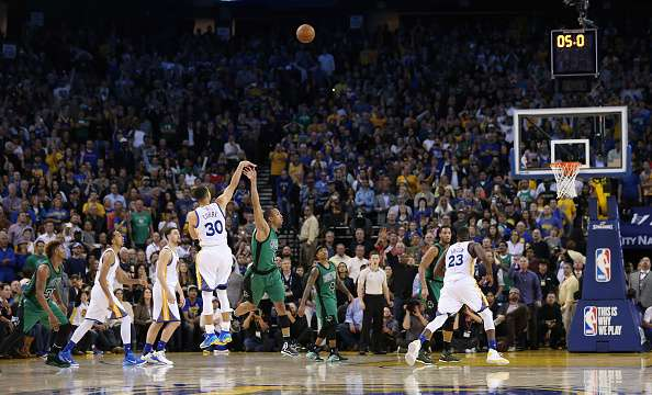 Curry off the dribble