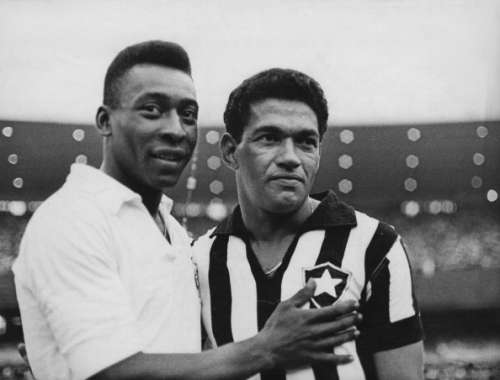 garrincha and pele