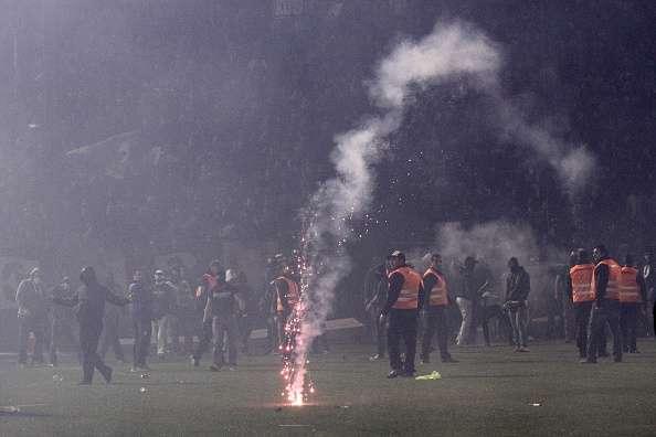 Greece Football violence