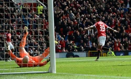 Marcus Rashford Aston Villa