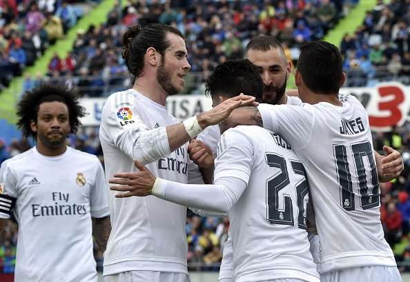 Résumé Vidéo Getafe Real Madrid 1 5 16 04 2016: Real Madrid Rout Getafe 5-1 To Keep Pressure On Barcelona