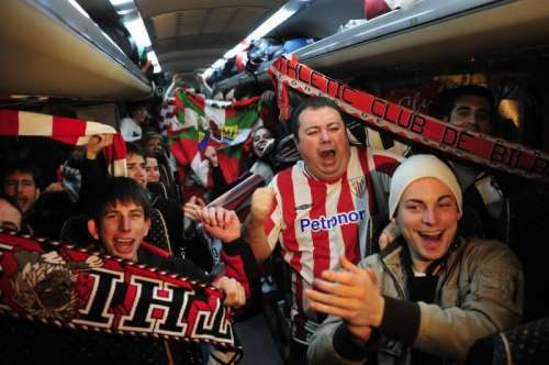 Football Fans travelling