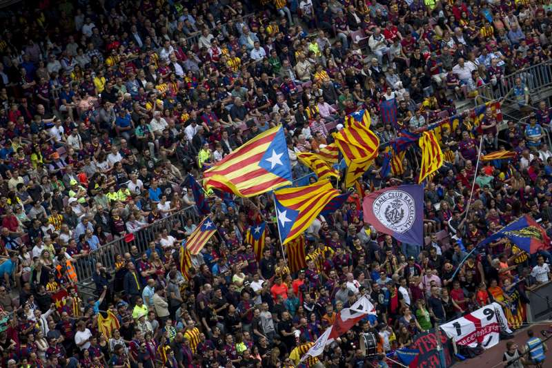 Football Fans Barcelona