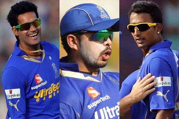 Sreesanth, Chandila, Chavan banned from IPL