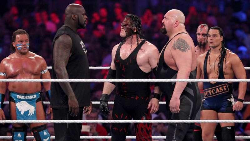 Big Show, Shaq, WWE, NBA, Wrestlemania