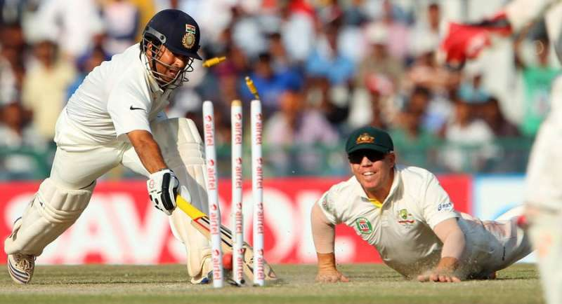 who was the first batsman given out by the third umpire