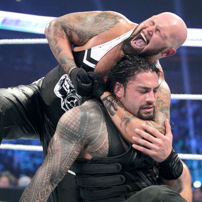 WWE Photos: Roman Reigns Vs. Luke Gallows