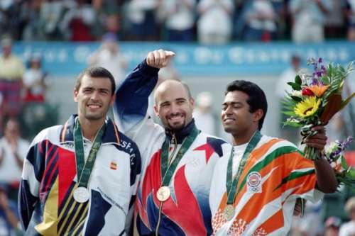 Leander Paes Andre Agassi