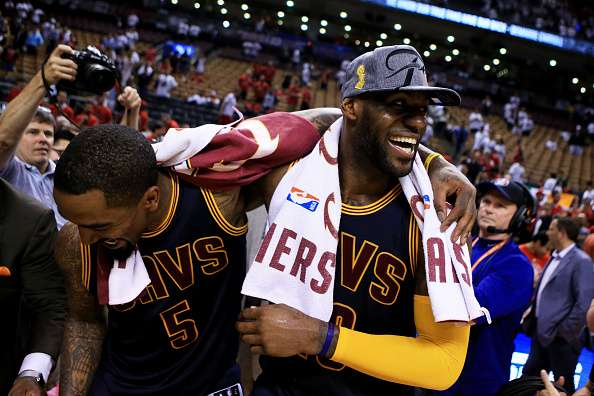 2016 East Finals: LeBron and the Cavaliers eliminate Raptors in Game 6, book second straight ...