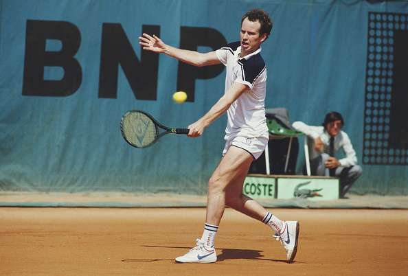 John McEnroe French Open 1984