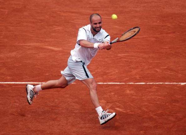 Andre Agassi 1999 French Open