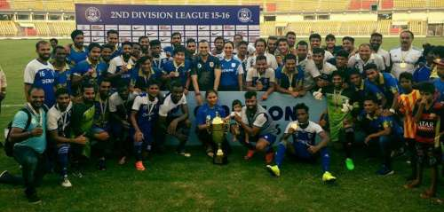 Dempo promoted I League Minerva