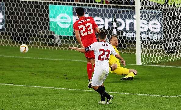 Coke goal Liverpool Sevilla Europa League final