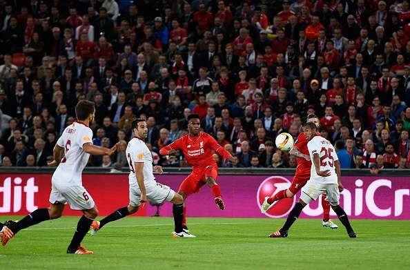 Daniel Sturridge goal Liverpool Sevilla Europa League final
