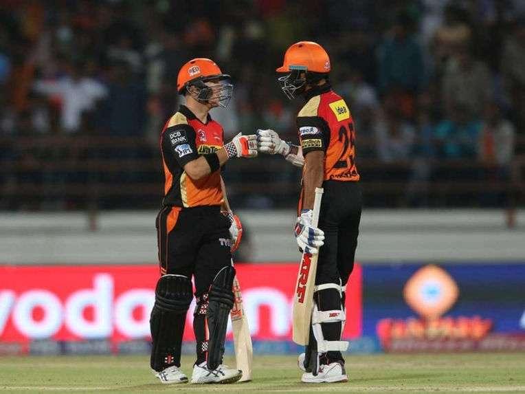 David Warner Shikhar Dhawan Sunrisers Hyderabad IPL 2016