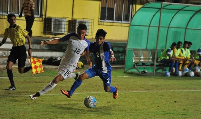 India vs USA AIFF Youth Cup