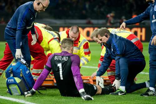 Jack Butland miss Euro 2016