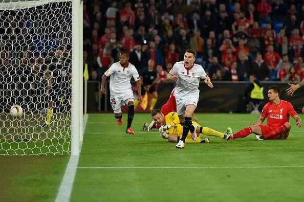 Kevin Gameiro goal Liverpool Sevilla Europa League final