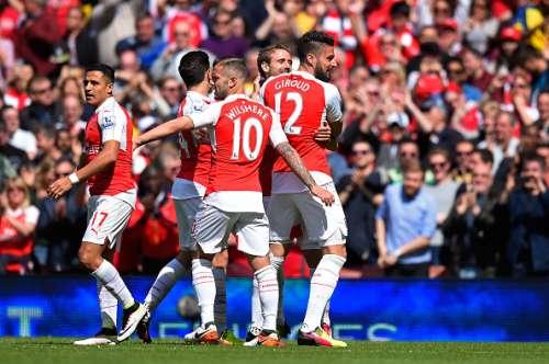 Olivier Giroud hat-trick Arsenal Aston Villa highlights