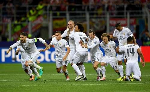 Real Madrid win