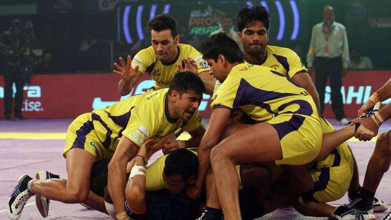 Telugu Titans Team & Players: Pro Kabbadi League 2016, Season 4