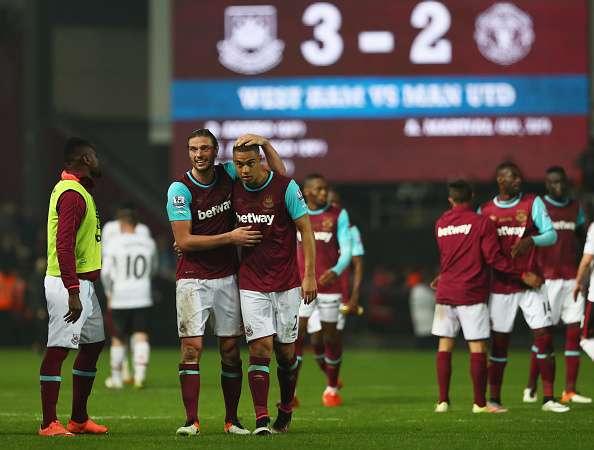 Bilderesultat for West Ham manchester united