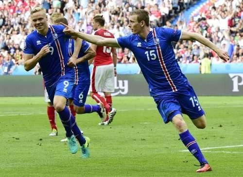 Bodvarsson Iceland Austria Euro 2016 Group F