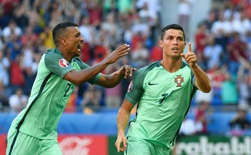 Ronaldo Portugal Nani Hungary Euro 2016 Group F
